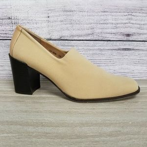 Donald J Pliner Slip On Square Toe Pumps Heels 10M